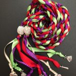 Purple and Red Handfasting